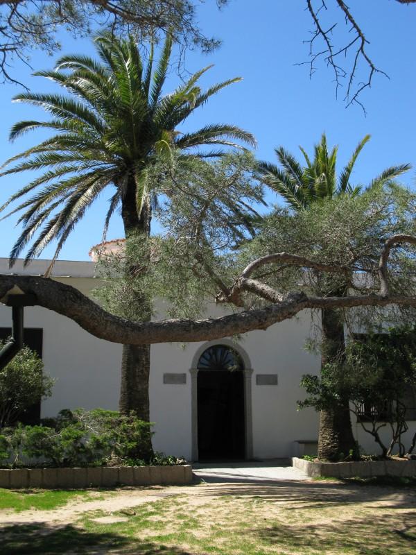 Der ehemalige Wohnsitz von Garibaldi