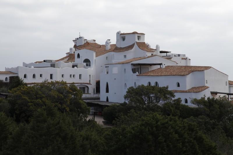 Costa Smeralda - 800€ bis 4000€ kostet in diesem Hotel die Nacht.