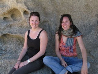 Evelyne und Jeannene aus der Schweiz