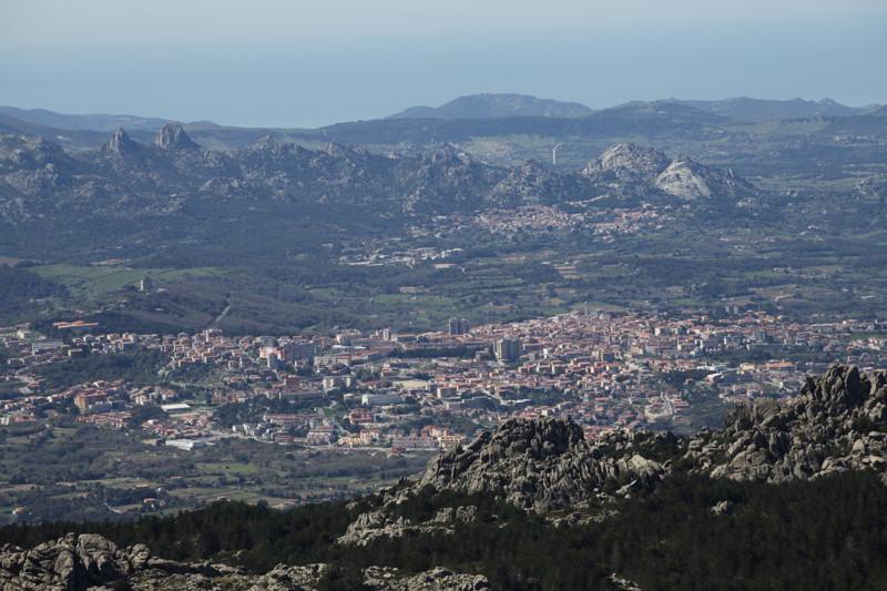 Ausblick vom Monte Limbara